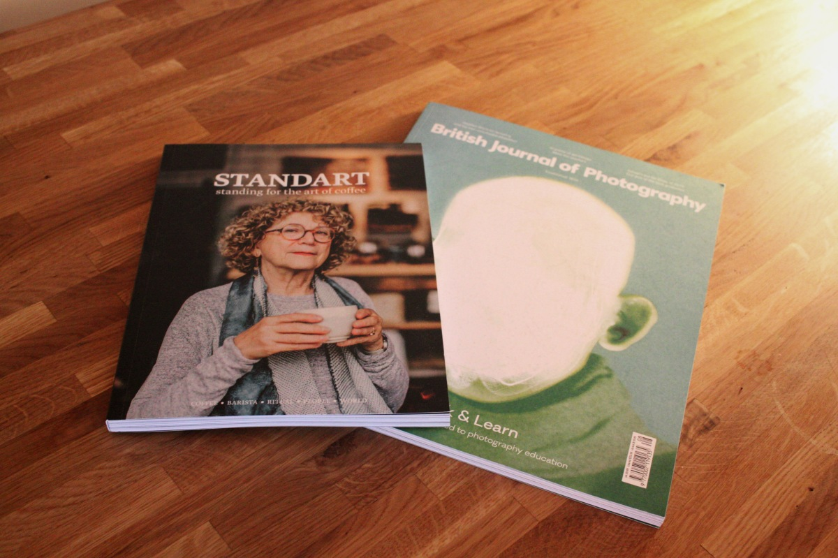Magazine standart coffee culture the British journal of photography art design culture