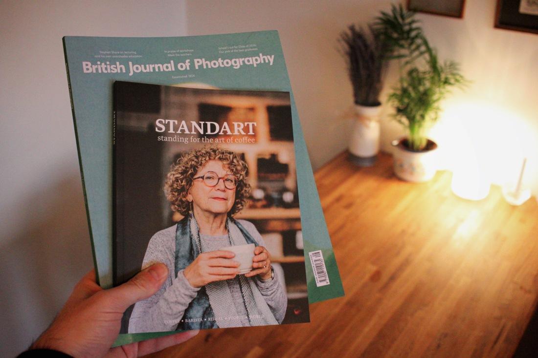 magazine standart and British journal of photography